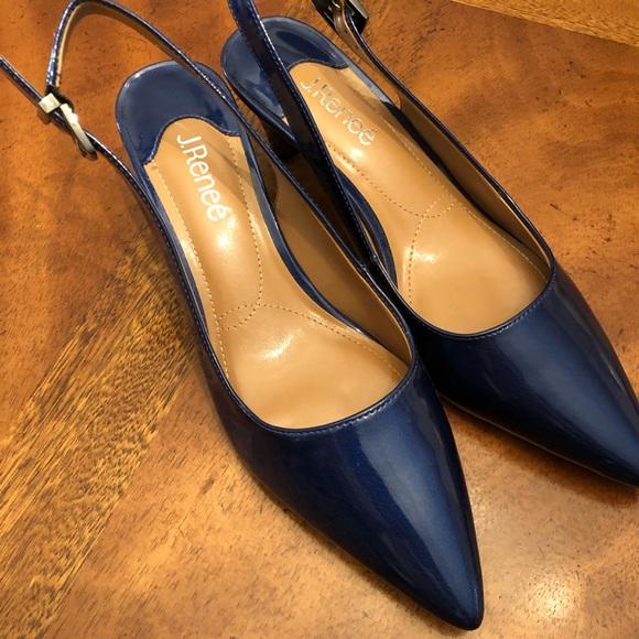 J.Renee Shoes | Navy Blue Pumps | Poshmark